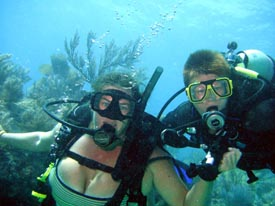 Mother and daughter, dive buddies for life!