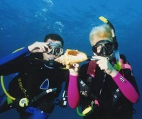 Scuba Diving Fun After Instruction
