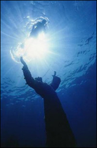 From my Gallery. Statue of the Christ of the Abyss. Key Largo, Florida